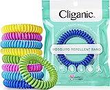 Cliganic 10 Pack Mosquito Repellent Bracelets, DEET-Free...