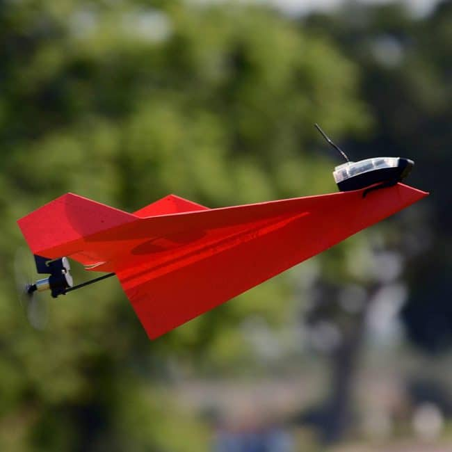 paper airplane remote controlled