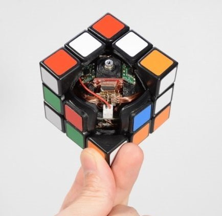 motorized rubic cube