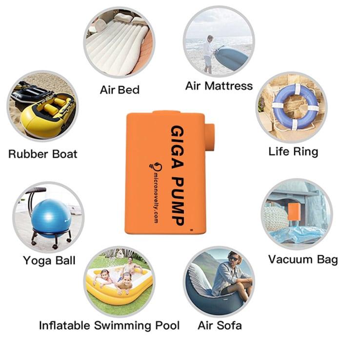 GIGA Pump - Smallest Inflattable Pump