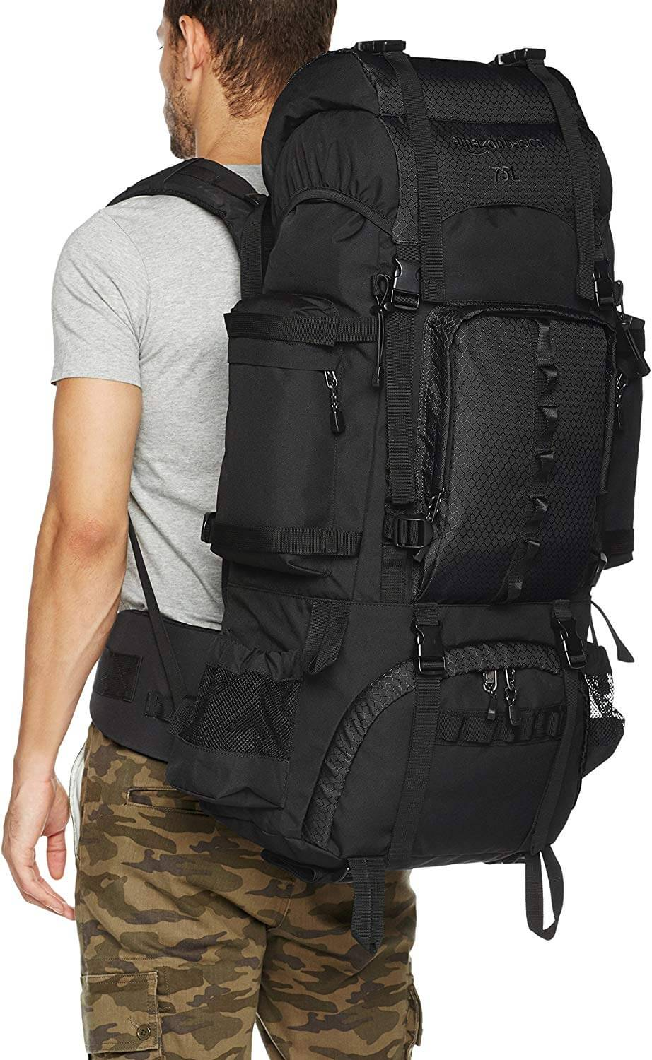 Amazon Basics Mens Hiking Backpack