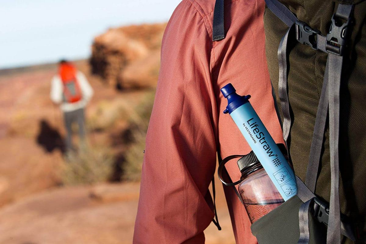 lifestraw portable water purifier