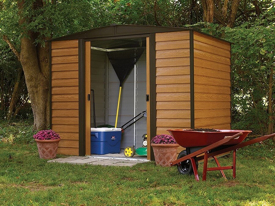 best storage shed for bikes