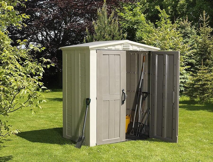 compact bike shed