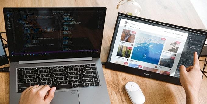 Desklab 4K monitor
