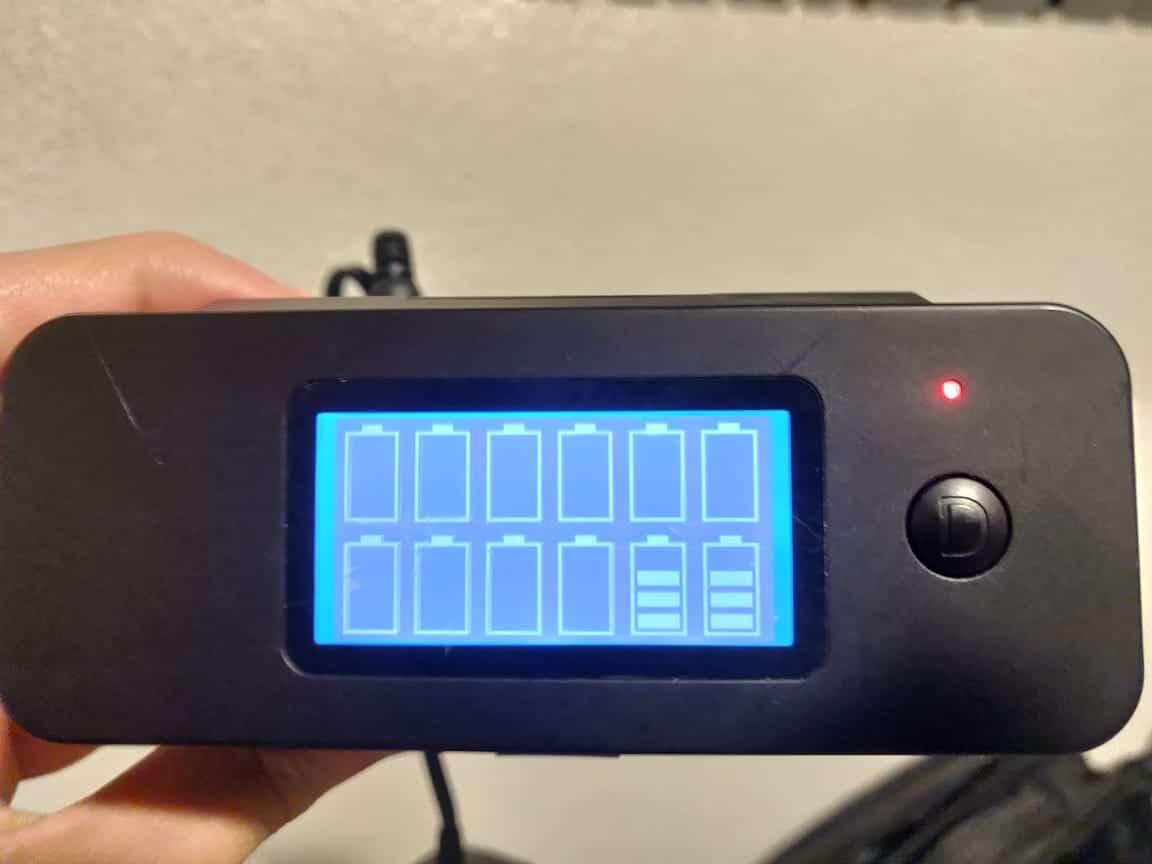 aa battery discharger