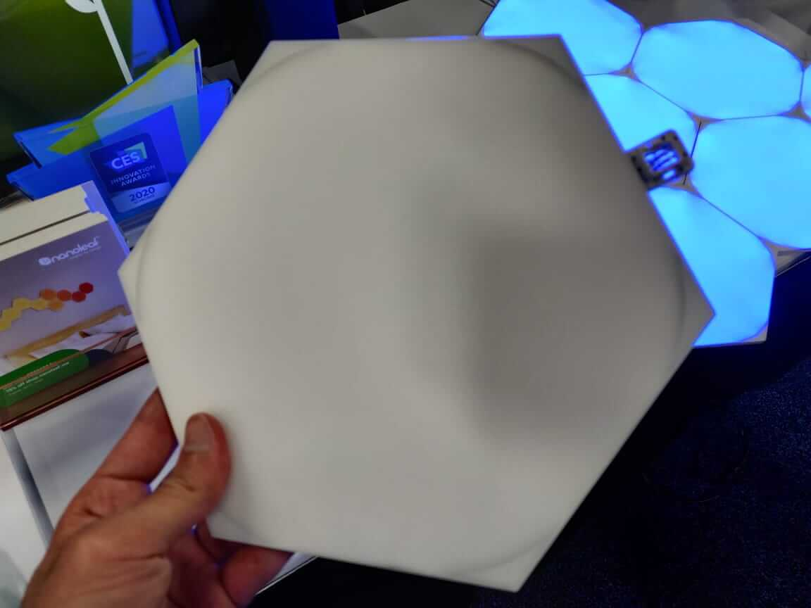 nanoleaf hexagonal panels