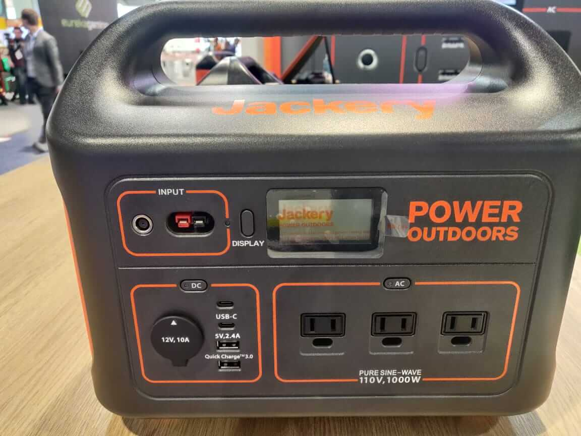 Jackery 1000W Power Station