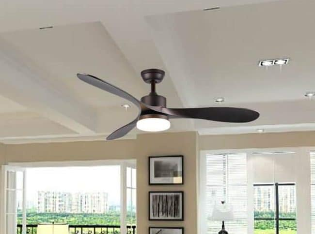Smart Ceiling Fan with Light Combination