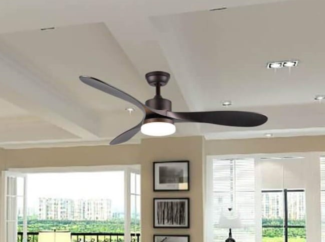 Lcaoful Smart Ceiling Fan With Light Works With Alexa Google