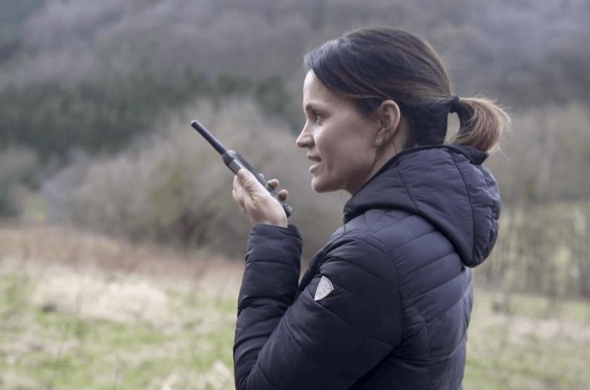 walkie talkie smartphone
