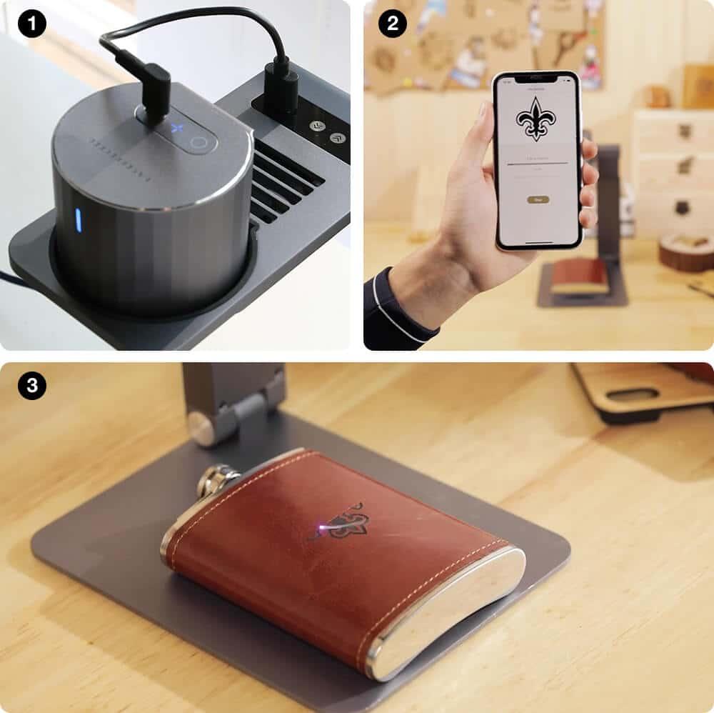 compact portable laser engraver