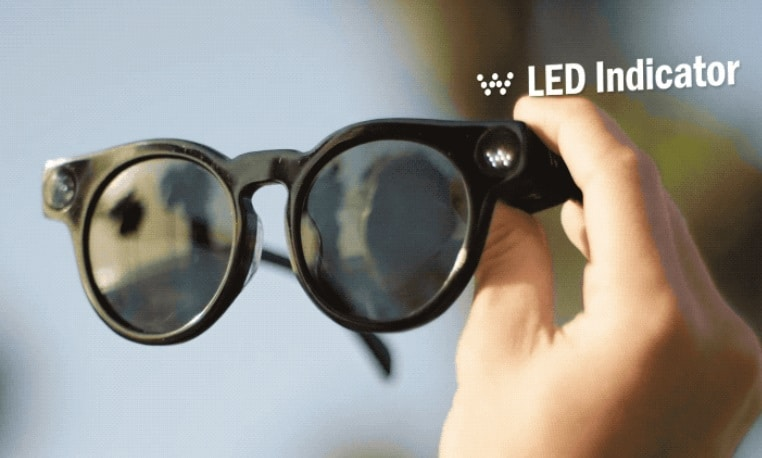 WAGII Smartglasses LED Indicator