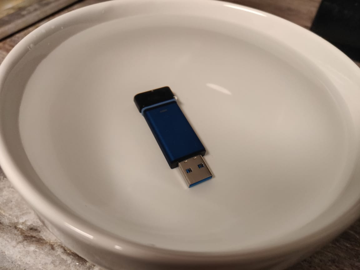 Waterproof Secure USB thumb drive