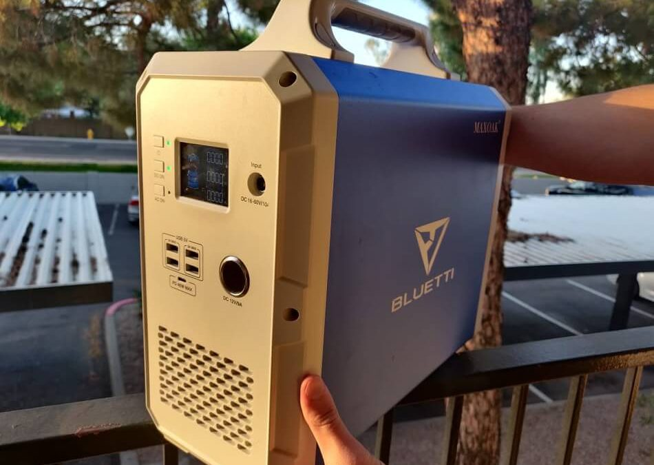 Bluetti EB150 Portable Power Station Review