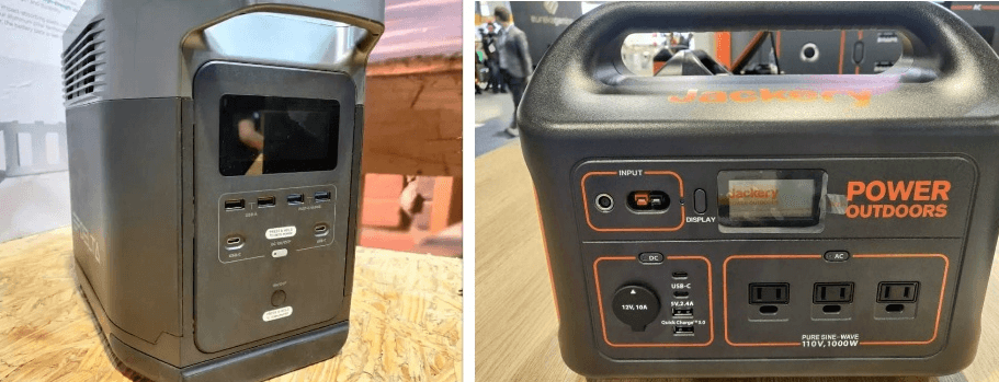 Compare Jackery and EcoFlow Delta Power Station
