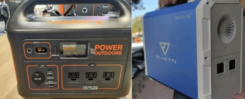 Bluetti and Jackery Power Station Comparisions