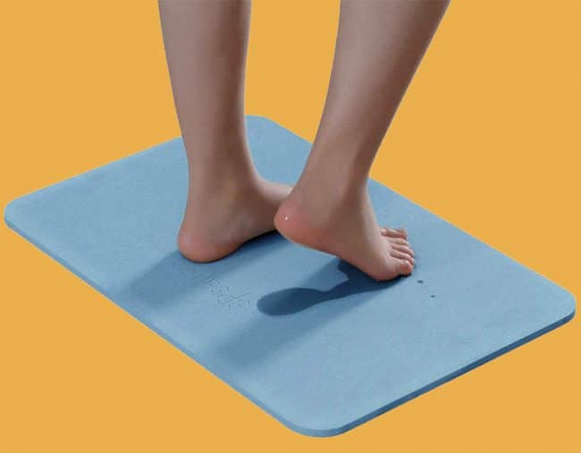 Quick Dry bath mat Diatomaceous Earth
