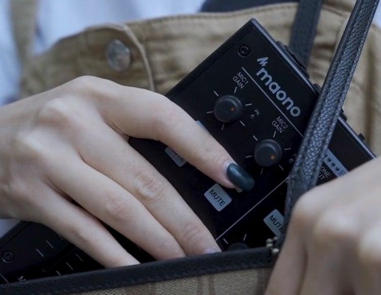 Monocaster gadget