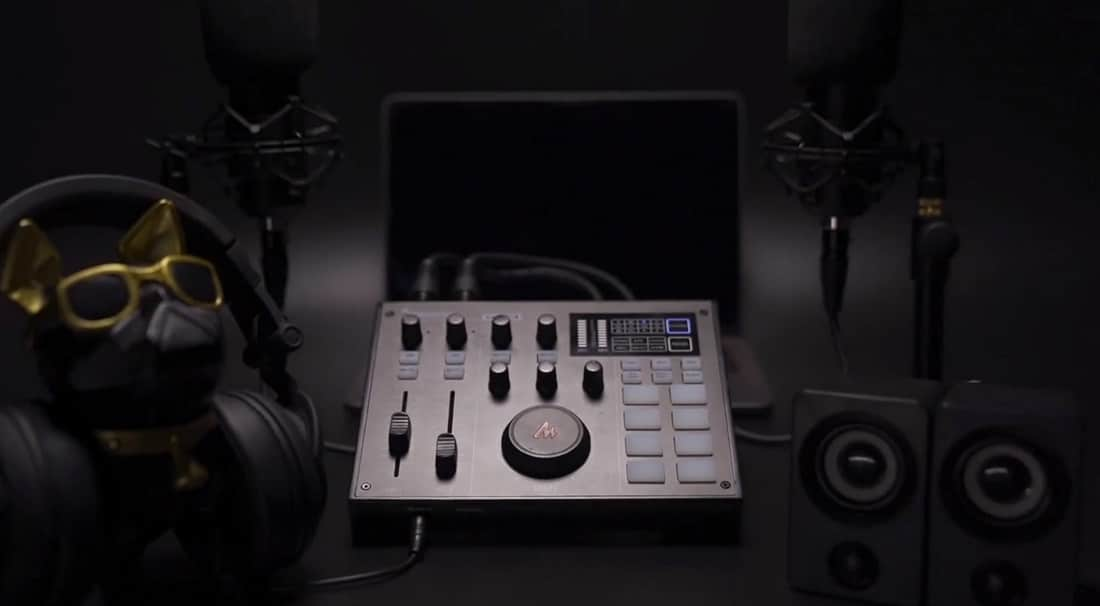 Monocaster setup