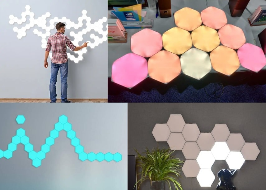 3 Best Modular Hexagon Touch Lights (Wall Mountable)