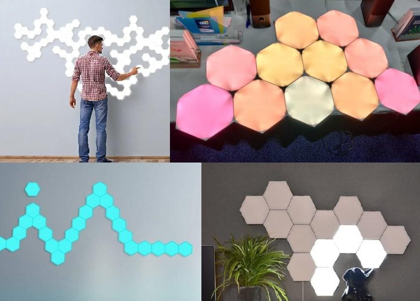 3 Best Modular Hexagon Touch Lights (Wall Mountable)