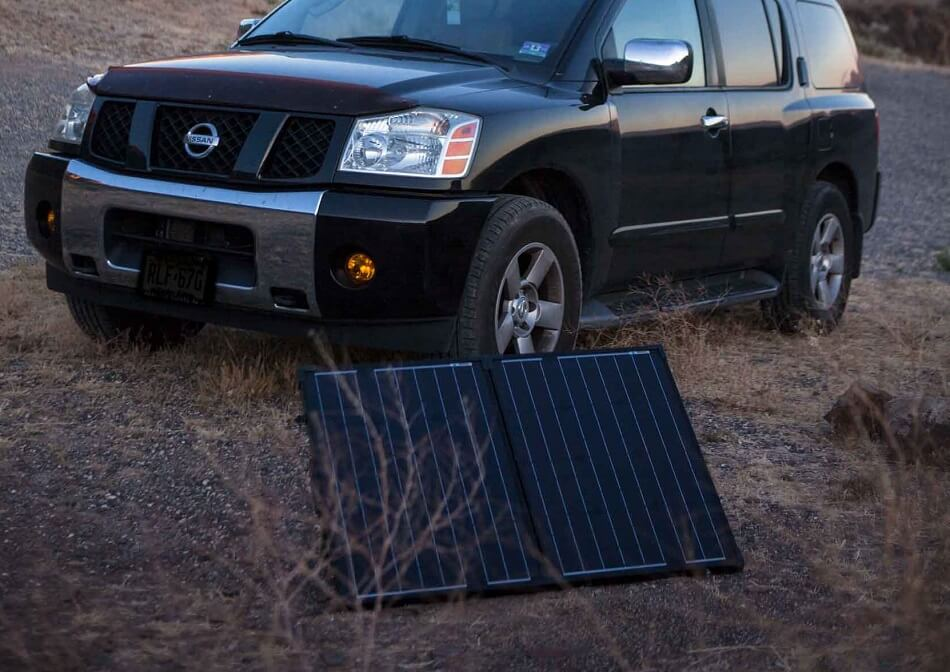 Solar Panel for Road Trip
