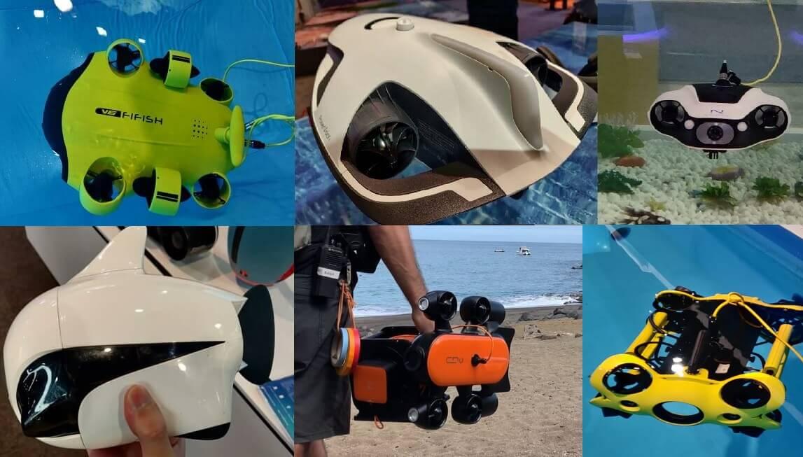 7 Best Underwater Drones – Reviews & Comparison
