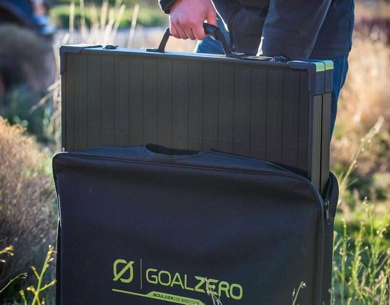 goal zero solar briefcase bag