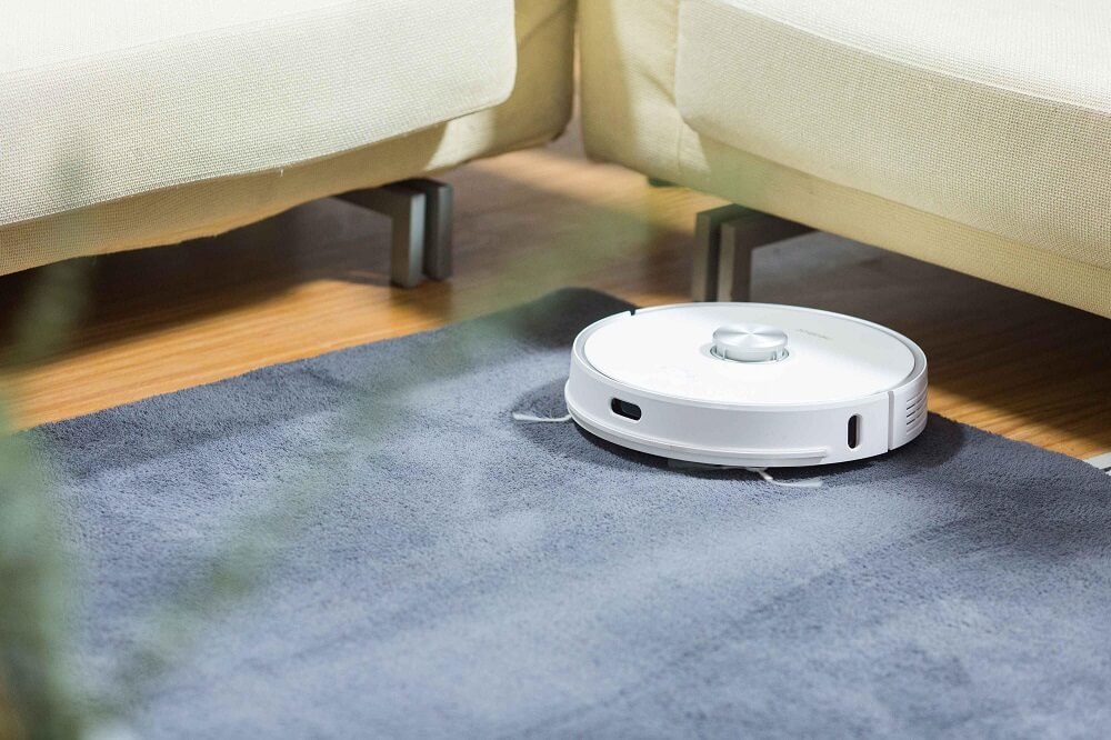 Self Disposing Vacuum robot