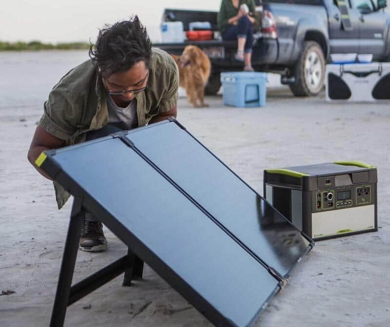 Goal zero boulder solar briefcase