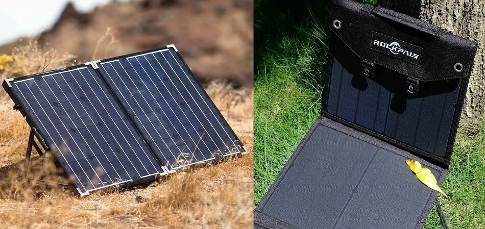 portable solar panels comparison