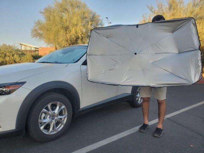 Lanmodo Car Sun Shade Review