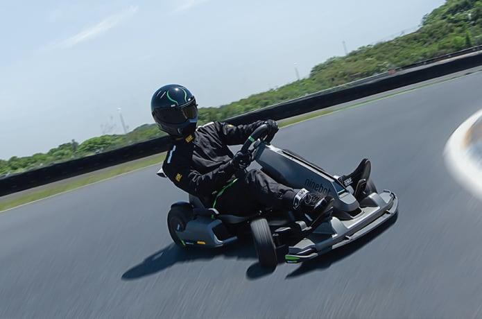 Segway Ninebot Gokart Pro speed