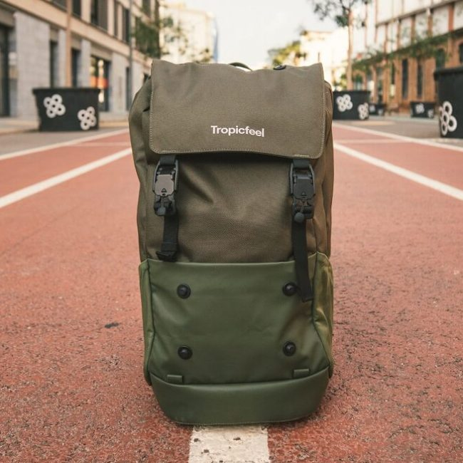 Tropicfeel Shell Backpack review