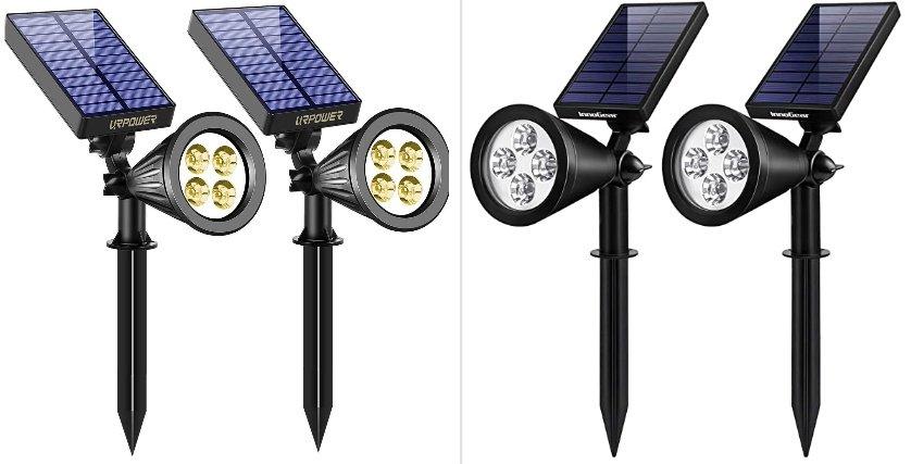 URPOWER vs InnoGear Solar Spotlights: In-Depth Comparison
