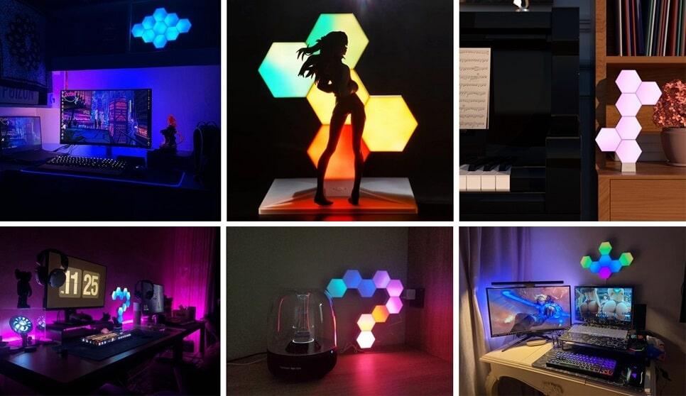 5 Best Nanoleaf Alternatives (Modular Lights)